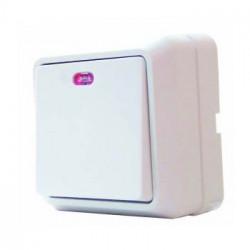 Выключатель 1-кл. с подсветкой BЗ10-1-1-Сb-W, АСКО