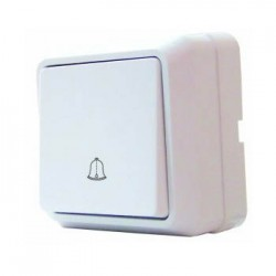Выключатель звонковый ВЗд10-Cb-W, АСКО