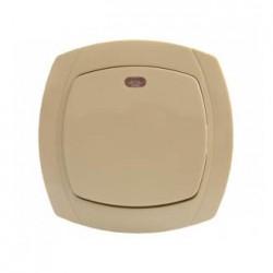 Выключатель 1-кл. с подсветкой BBсб10-1-1-Ov-I, АСКО