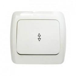 Выключатель 1-кл. проходной BBпсб10-1-0-Sq-I, АСКО