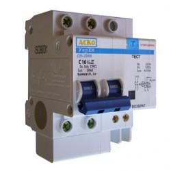 Дифференциальный выключатель ДВ-2006 2p 25А 30мА, A0030030002, АСКО