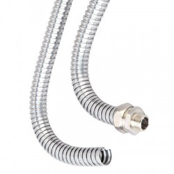 607X-15 гибкая гофрированная труба dn 15,0/19,9 mm AISI321, 607X-15, ДКС