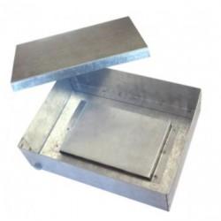 Коробка ответвительная окрашенная, 100х100x65, IP53, сталь оцинкованная, 65454, ДКС