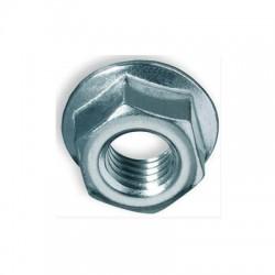 Гайка зубчатая с буртиком М6, DIN 6923 (4210600) , 201033, СКАТ