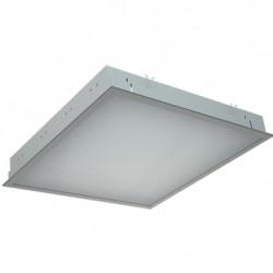 Светильник PRS/R 418 /595/ HF врезной с призматическим рассеивателем, Световые Технологии, 1031000420