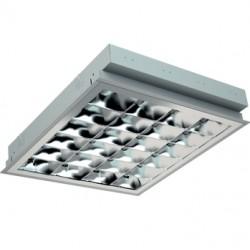 Светильник PRBLUX/R 418 /595/ HF встраиваемый потолочный с зеркальной бипараболической решеткой, Световые Технологии, 1019000210