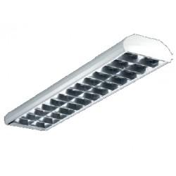 Светильник TOP 258 HF накладной-подвесной с зеркальной параболической решеткой, Световые Технологии, 1051000110