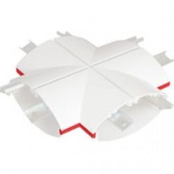 RV соединитель X белый, Световые Технологии, 2305000180