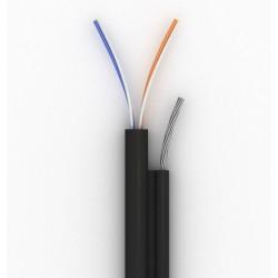 Кабель КППТ-ВП (100) 2х2х0,50 (UTPcat.5) внеш. с тросом, 305м, Одескабель, OC-UTP5-2-VT-BOX / 305