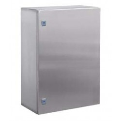 Навесной шкаф CE из нержавеющей стали (AISI 316), 500 x 300 x 200мм, с фланцем, R5CEF05322, ДКС
