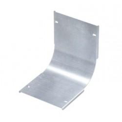 Крышка на угол вертикальный внутренний 90°, осн. 450, толщ. 0,8 мм, AISI 304, IKSIL450C, ДКС