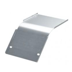 Крышка на угол вертикальный внутренний 45°, осн. 50, толщ. 0,8 мм, AISI 304, IKSKL050C, ДКС