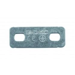 Пластина PTSE для заземления, t=1мм, ДКС, 37501