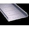 Лоток перфорированный 400х100 оцинкован по методу Сендзимира, длина 3м, t=0,8мм, ДКС, 35345