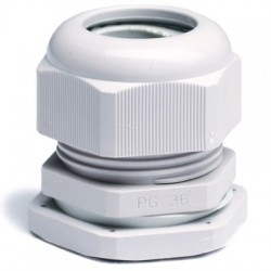 Зажим кабельный с контргайкой, IP68, PG7, д.3-6,5мм 52500 ДКС