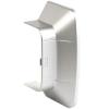 Ввод в стену/потолок 140х50мм, цвет серый металлик RAL9006 01407G ДКС