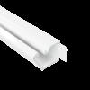 TMR 10х10 Миниканал самоклеющийся с отгибающейся крышкой (Россия), цвет белый RAL9016 00301 ДКС
