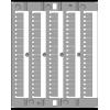 CNU/8/001, маркировка 1 - 50 по 2 шт каждого элемента ZN8001 ДКС