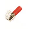 Наконечник быстрого соединения смешаный с контактом 6,3X0,8 мм с изолированным фланцем, сечением 0,25-1,5 мм? 2A30P ДКС