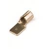 Наконечник быстрого соединения типа вилка с контактом 6,3X0,8 мм без изоляции, сечением 0,25-1,5 мм2 2A22 ДКС