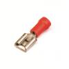 Наконечник быстрого соединения типа розетка с контактом 2,8X0,5 мм с изолированным фланцем, сечением 0,25-1,5 мм? 2A04P ДКС