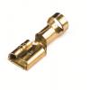 Наконечник быстрого соединения типа розетка с контактом 6,3X0,8 мм без изоляции, сечением 1,5-2,5 мм? 2B02L ДКС