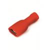 Наконечник быстрого соединения типа розетка с контактом 6,3X0,8 мм полностью изолированным, сечением 0,25-1,5 мм? 2A02TP ДКС