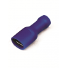 Наконечник быстрого соединения типа розетка с контактом 6,3X0,8 мм полностью изолированным, сечением 1,5-2,5 мм? 2B02TP ДКС