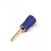 Круглый штыревой наконечник с контактом 11 мм с изолированным фланцем, сечением 1,5-2,5 мм? 2B1P ДКС