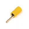 Круглый штыревой наконечник с контактом 13 мм с изолированным фланцем, сечением 2,5-6 мм? 2C1P ДКС