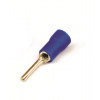 Круглый штыревой наконечник с контактом 7 мм с изолированным фланцем, сечением 1,5-2,5 мм? 2B1CP ДКС