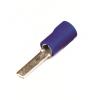 Плоский штыревой наконечник с контактом 12 мм с изолированным фланцем, сечением 1,5-2,5 мм? 2B11P ДКС