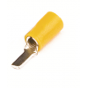 Плоский штыревой наконечник с контактом 13 мм с изолированным фланцем, сечением 2,5-6 мм? 2C11P ДКС