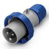 Вилка кабельная IP67 16A 2P+E 230В, DIS2181633, ДКС