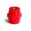 Изолятор шинный высота 16 мм Ширина 15 мм крепление на болт М4, V= 500 В ISBK1506 ДКС