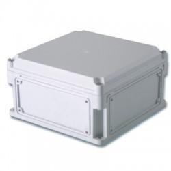 Корпус пластиковый общего назначения IP67, 400x200x160 (высота крышки 35), выбивные стенки, непрозрачная крышка, 542310, ДКС