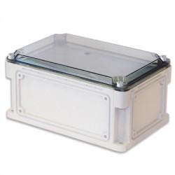 Корпус пластиковый общего назначения IP67, 300x150x146 (высота крышки 21), выбивные стенки, прозрачная крышка, 531211, ДКС