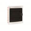 Щиток встраиваемый с дверцей 36(2х18) модулей, IP41, цвет белый RAL9016, 81536, ДКС