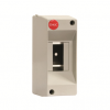 Щиток настенный, без дверцы, 2 модуля, IP20, цвет серый RAL7035, 82002, ДКС