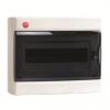 Щиток настенный с дверцей 12 модулей, IP41, цвет белый RAL9001, 84612, ДКС