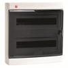 Щиток настенный с дверцей 36(2х18) модулей, IP41, цвет белый RAL9001, 84636, ДКС