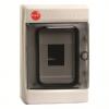 Щиток настенный с дверцей  4 модуля,IP65, цвет серый RAL7035, 85604, ДКС