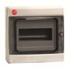 Щиток настенный с дверцей  8 модулей, IP65, цвет серый RAL7035, 85608, ДКС
