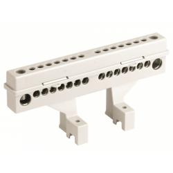 Клеммный блок (2х12 модулей + суппорты) в комплекте с крепежом, 87512, ДКС