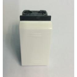 Выключатель однополюсный, 20А, 250V, 1 модуль АБС, белый, 45011, ДКС