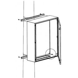 Комплект крепления навесных шкафов на столб, Ш=300мм, R5FB300, ДКС