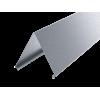 Крышка двускатная 400, L1500, цинк-ламел, SKS334ZL, ДКС