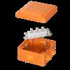 Коробка пластиковая FS с кабельными вводами и клеммниками,IP55,100х100х50мм, 5р, 450V,10A, 6мм.кв., FSB11506, ДКС