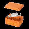 Коробка пластиковая FS с кабельными вводами и клеммниками,IP55,150х110х70мм, 5р, 450V,30A,16мм.кв, FSB21516, ДКС