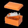 Коробка пластиковая FS с гладкими стенками и клеммниками, IP56,150х110х70мм, 5р, 450V,30A,16мм.кв, FSB20516, ДКС
